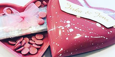 Unieke chocolade stukken